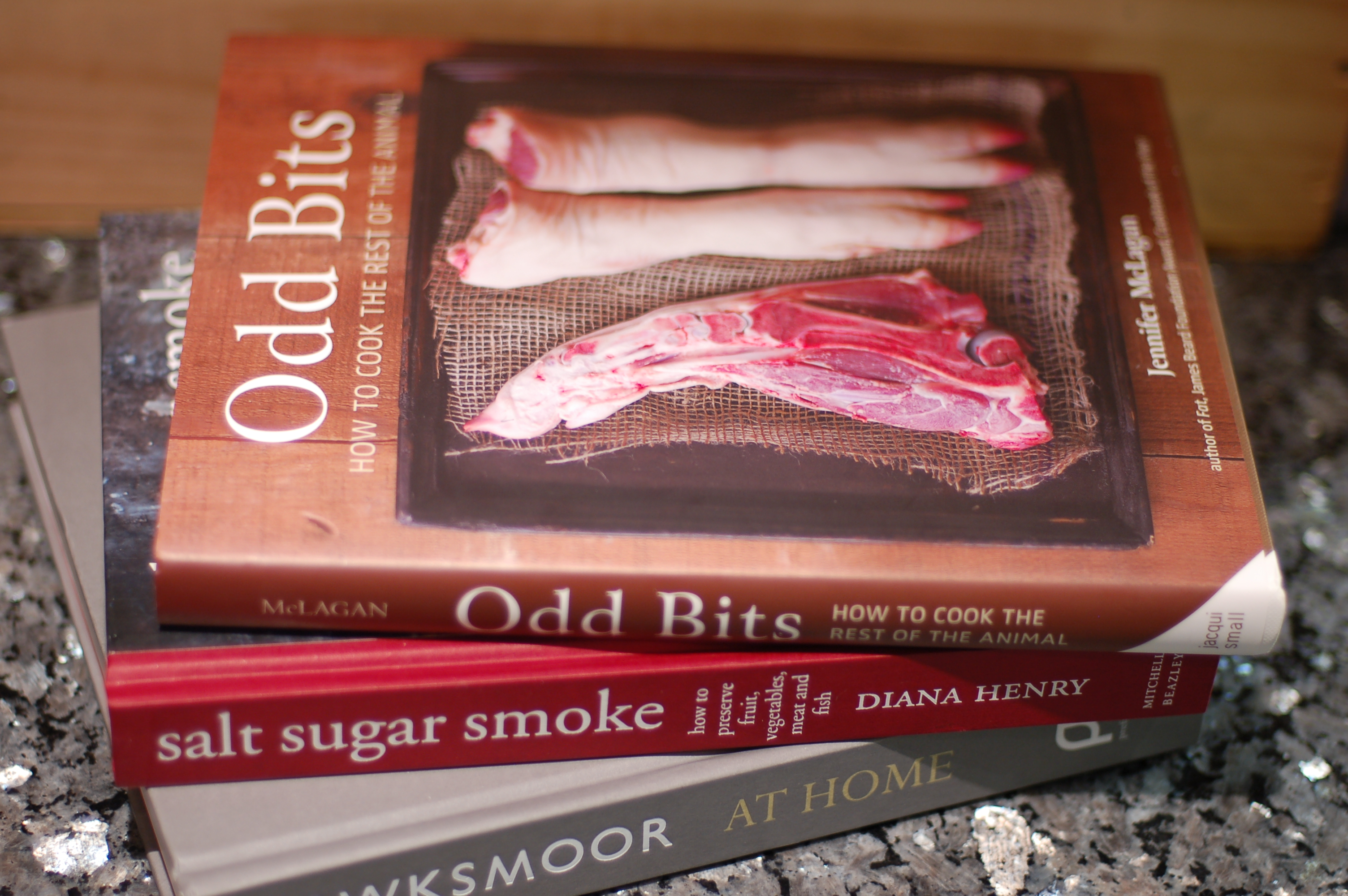 went on a bit of a cookbook binge at Books for Cooks